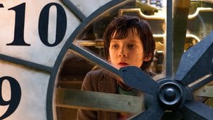 Asa Butterfield plays Hugo Cabret in Martin Scorsese's Paris-set Hugo