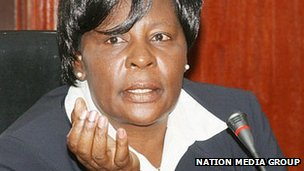 Kenyan Deputy Chief Justice Nancy Baraza