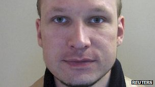 Anders Behring Breivik (passport photo from 2009)