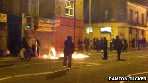 Liverpool riots photo by Damion Tucker
