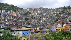 Favela in Rio de Janeiro