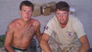 L/CPl Dane Elson and L/Sgt Dan Collins