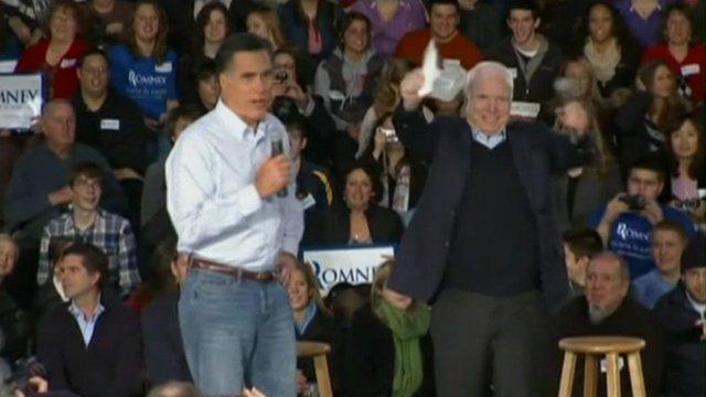 John McCain endorses Mitt Romney
