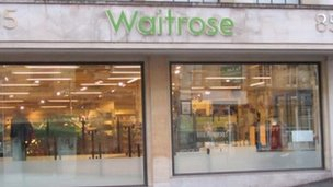 Waitrose store in Bristol
