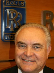 Francisco Itzaina, South American president of Rolls-Royce