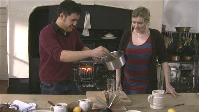 James Wong and Sophie Dahl make a cold remedy