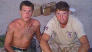 L/CPl Dane Elson and L/Sgt Dan Collins