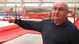 John Pawsey, Waveney Gymnastics Club