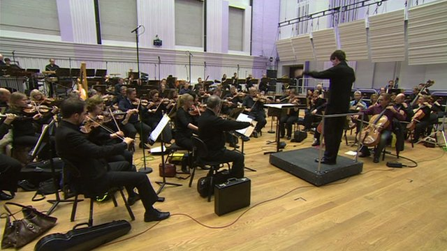 The BBC Philharmonic Orchestra