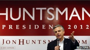 on Huntsman's campaign has been focussed on New Hampshire for months