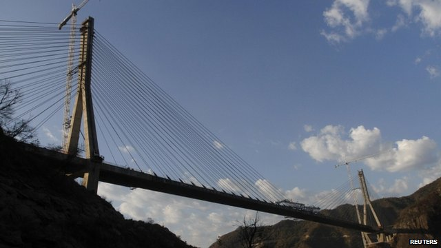 The Baluarte Bridge in northern Mexico