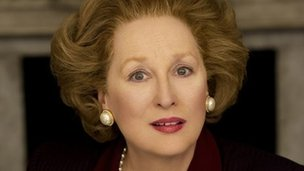 Meryl Streep as Baroness Thatcher