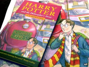 First edition of Harry Potter and the Philosopher's Stone