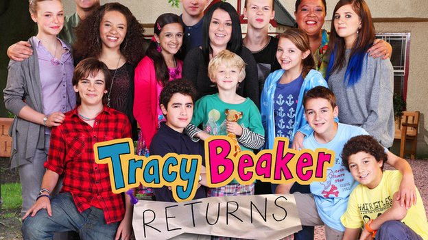 The cast of Tracy Beaker Returns