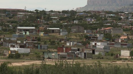 Shacks in Ficksburg