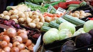 Market stall - generic image