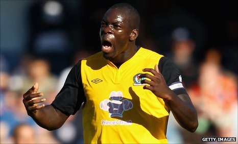 QPR have bid £5m for Blackburn Rovers defender Christopher Samba