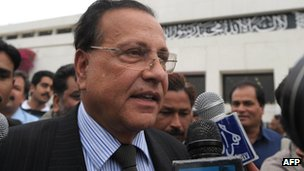 Salman Taseer, Governor of Punjab province in 2009