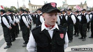 Jobbik paramilitaries