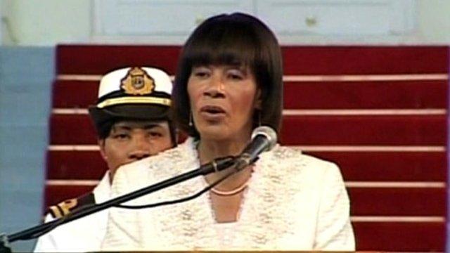 Prime Minister Portia Simpson Miller