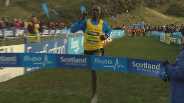 Asbel Kiprop wins in Edinburgh