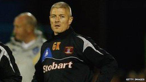 Carlisle Assistant Boss, Graham Kavanagh.