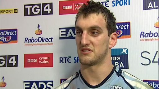 Cardiff Blues captain Sam Warburton