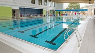 bbc news horley leisure centre ready to open after 9m build