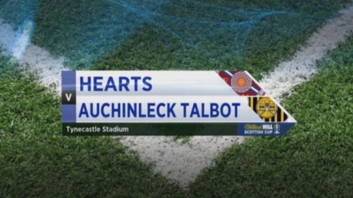 Hearts v Auchinleck Talbot
