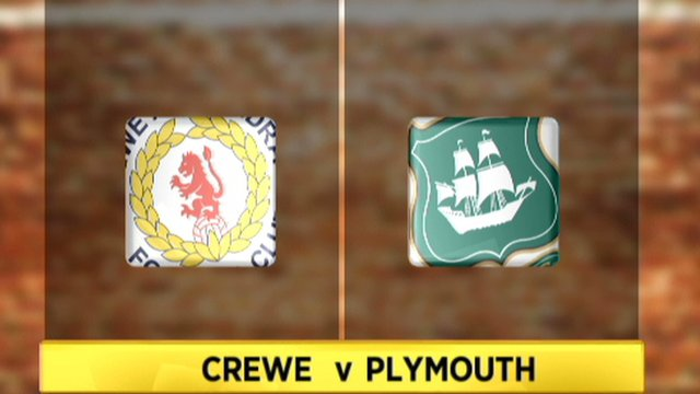 Highlights: Crewe 3-2 Plymouth