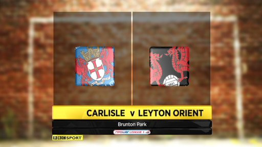 Carlisle 4-1 Leyton Orient