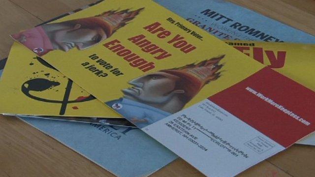 Political campaign leaflets