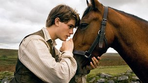 A scene from the film War Horse