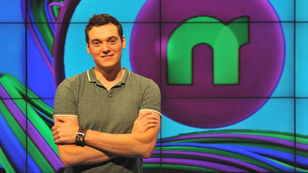 Newsround presenter Joe Tidy