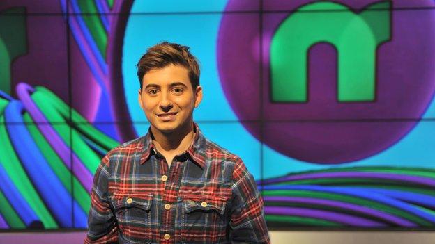 Newsround presenter Ricky Boleto