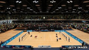 Olympic handball arena