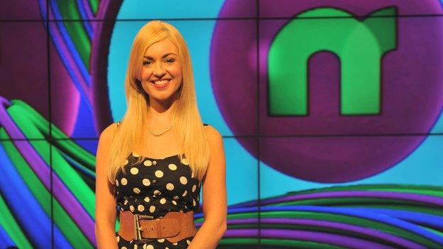Newsround presenter Hayley Cutts