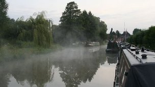 The Oxford Canal in Cropredy