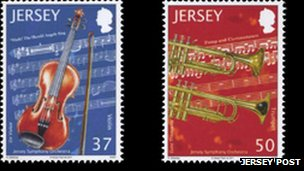 Jersey Stamps (photo: Jersey Post)