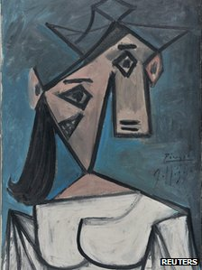 Picasso's Woman's Head - 1939