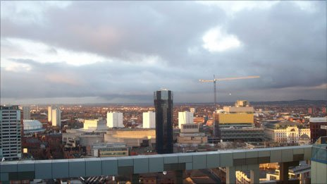 View of Birmingham city centre