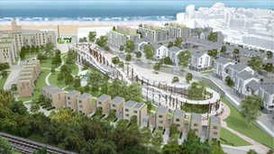 Margate Town Centre Regeneration Company's vision for the site