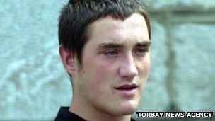 Jake Ormerod. Pic: Torbay News Agency