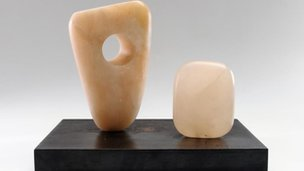 Two Rotating Forms, Number 2 by Dame Barbara Hepworth