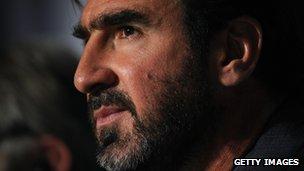 Eric Cantona (file pic 2009)