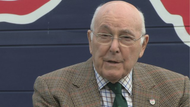 F1 commentary legend Murray Walker