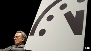 Doomsday Clock moves one minute closer to midnight