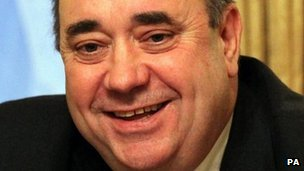 Alex Salmond has accused the Westminster government of adopting a belligerent attitude