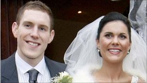 Michaela and John McAreavey on their wedding day