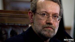 Ali Larijani (30 November 2011)